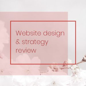 your website needs strategy in order to work best for your business.